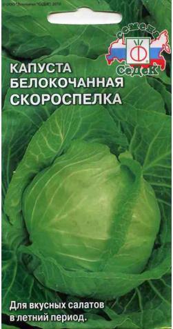 Капуста б/к «Скороспелка»