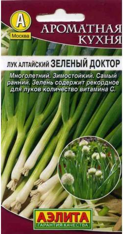 Лук Алтайский «Зеленый доктор» (Многолетний).
