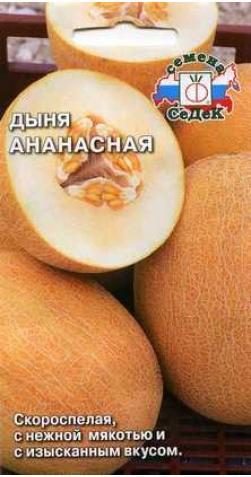 Дыня «Ананасная».