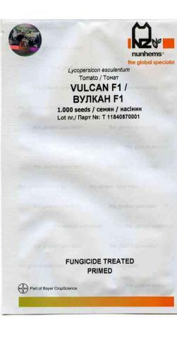 Томат «Вулкан F1» (Голландия Nunhems)